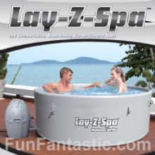 Bestway Lay Z Spa 1500ltr Platimun Series Inflatable Hot